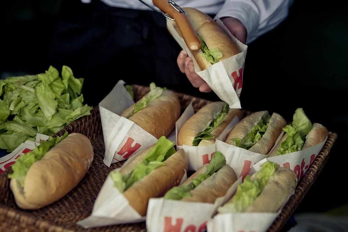 Hot-dog amerykański, usługa cateringowa - organizacja imprez