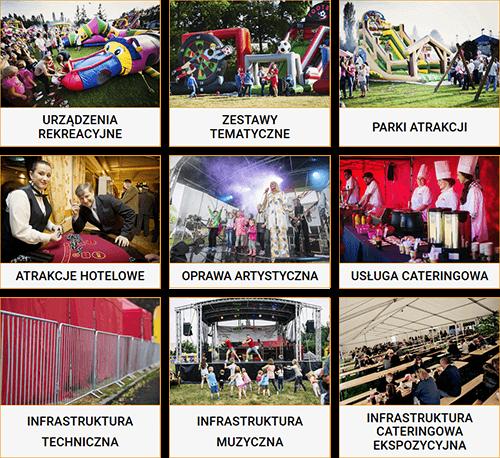 Organizacja imprez Dart-pol - Pełna oferta Dart-pol